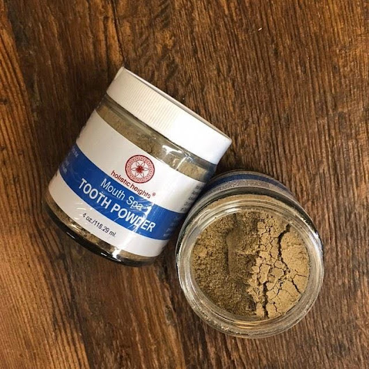 Get dirty to get clean: tooth powder hits the spot.
