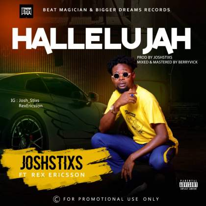 DOWNLOAD MP3: JoshStixs Ft Ericson – Hallelujah (Prod By Joshstixs)