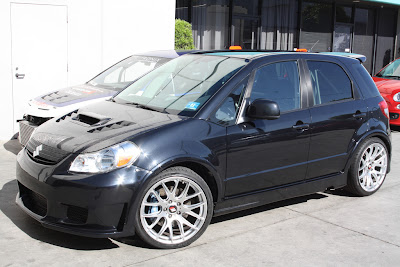 Road Race Motorsports Turbo SX4 Project
