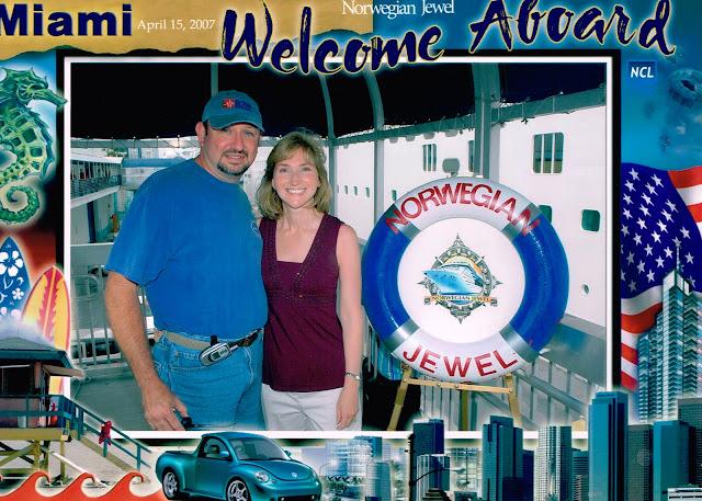 Nowegian Jewel embarkation photo