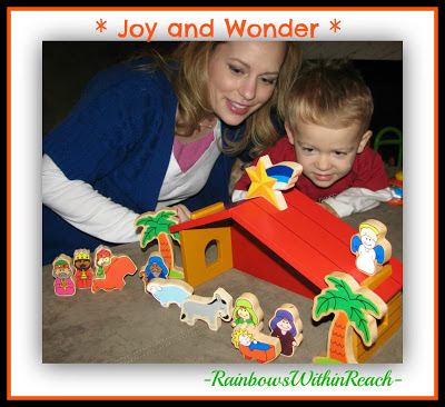 photo of: Holiday Wonder and Joy from PreK+K Sharing