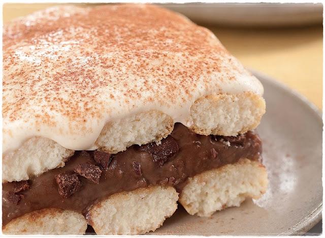 Receita Recipe Receta Pavê Nestlé Chocolate Frades