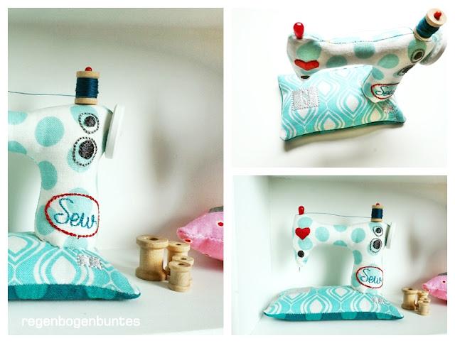regenbogenbuntes mini n hmaschinen ith stickdatei. Black Bedroom Furniture Sets. Home Design Ideas