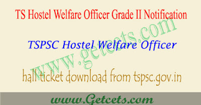 TS BC hostel welfare officer hall tickets 2018 telangana,tspsc hostel welfare officer hall ticket 2018