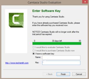 camtasia studio 8 software key and name 2016
