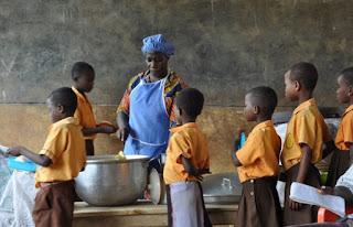 Ghana Govt increases School Feeding beneficiaries to 2.1 million