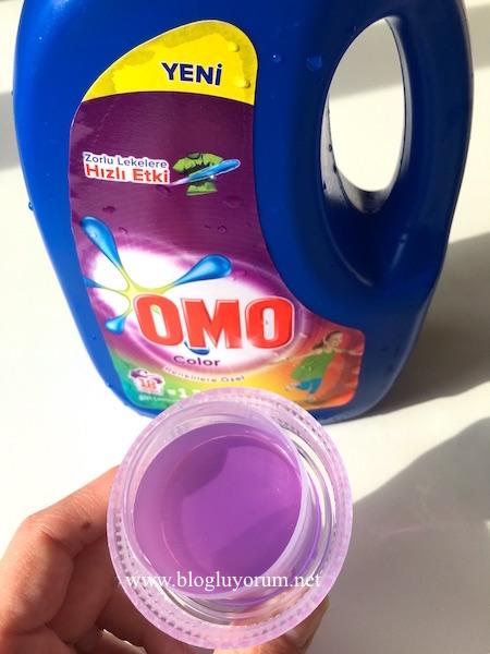 omo color renkliler için sıvı çamaşır deterjanı