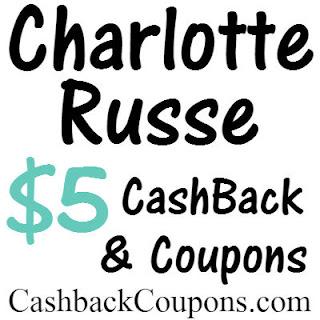 Charlotte Russe Coupons & Cashback Ibotta, Ebates, MrRebates