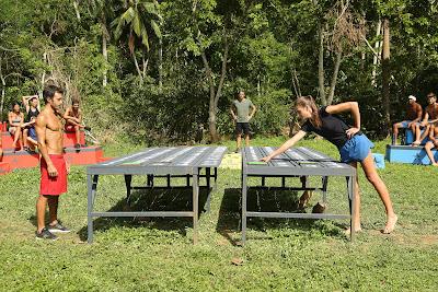Marcel enfrenta Juliana em jogo de pura sorte - Divulgação/Band