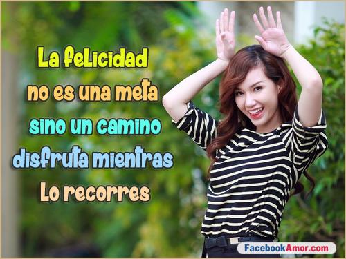 Tarjetas Con Frases De Felicidad