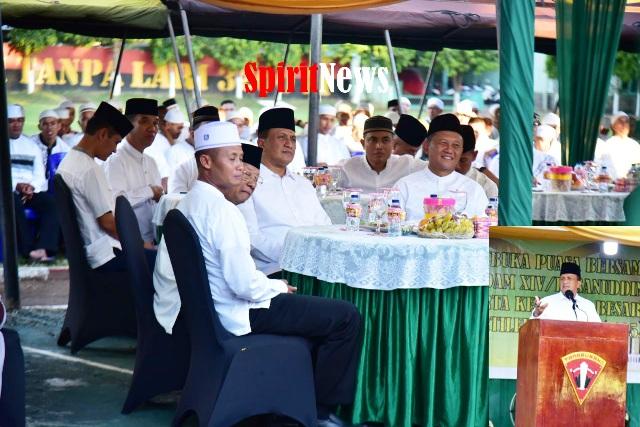 Pangdam Hasanuddin, Setia Hingga Akhir Harus Tetap Ada Dalam Diri Prajurit Armed 6-105/Tarik