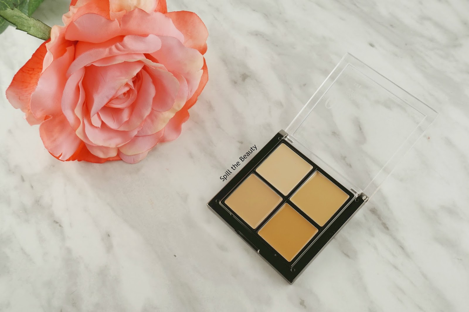 quo 2017 makeup review swatches quo concealer palette