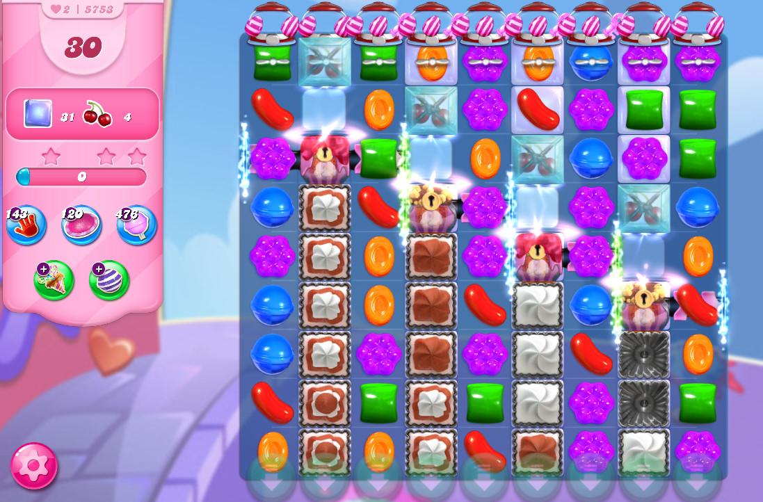 Candy Crush Saga level 5753
