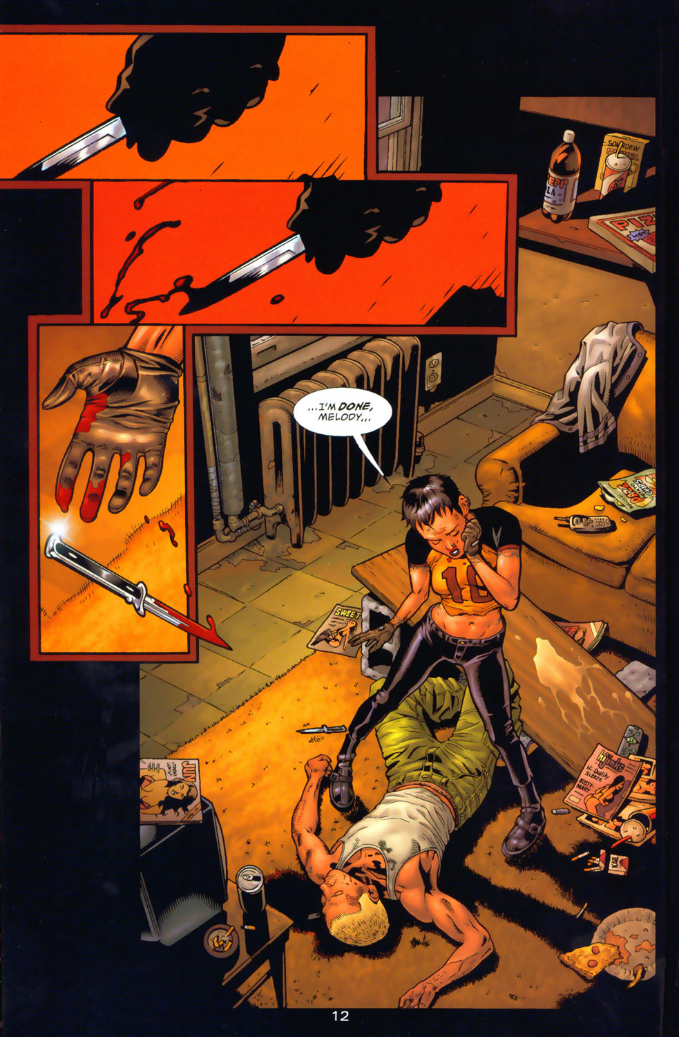 Read online Wonder Woman: The Hiketeia comic -  Issue # Full - 19