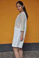 Radhika Cute Young New Actress in White Long Transparent Kurta ~  Exclusive Celebrities Galleries 086.JPG