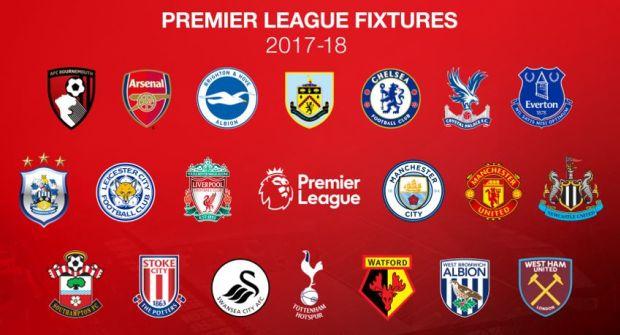 Daftar Klub Peserta Liga Primer Inggris 2017