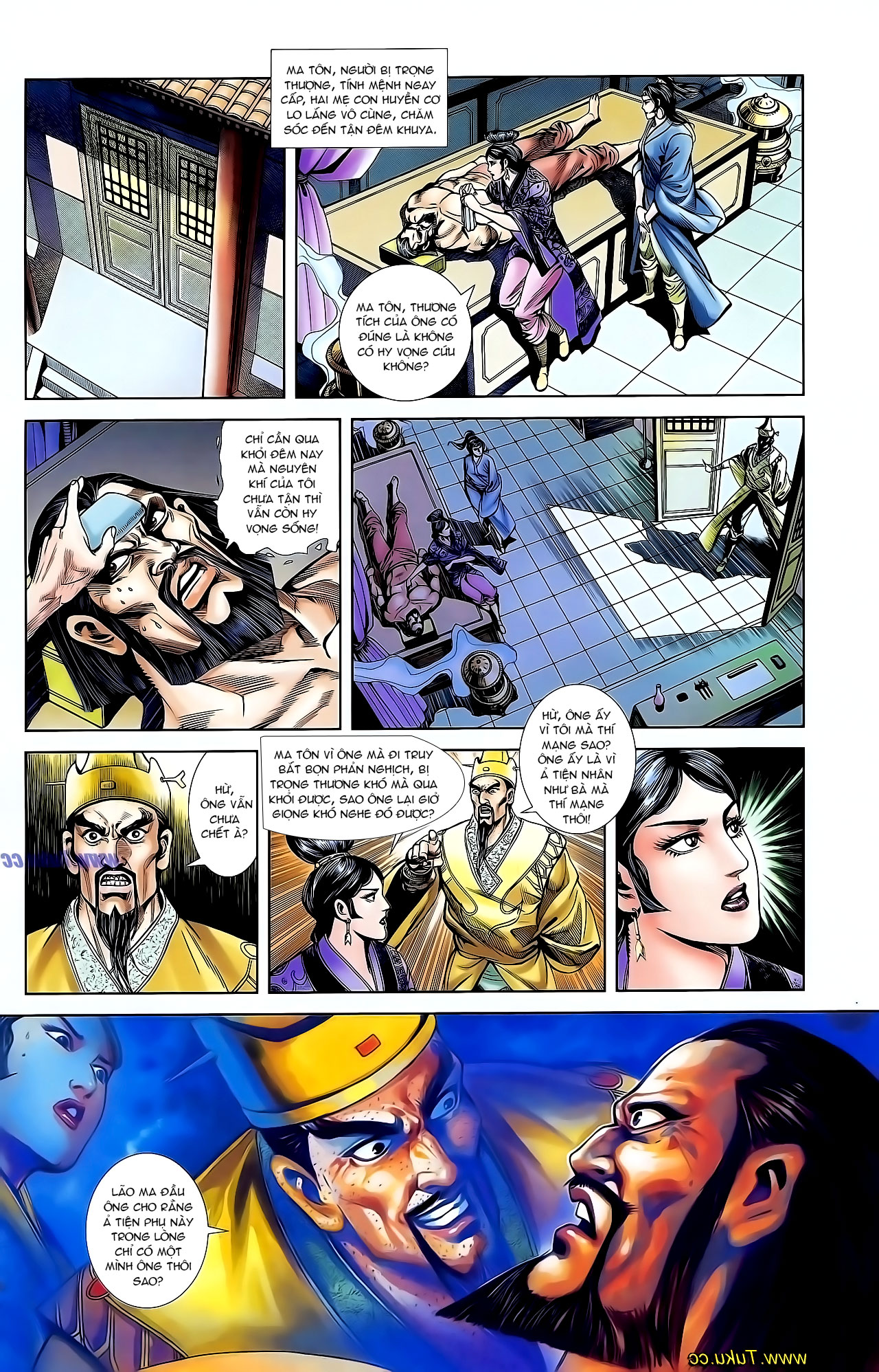 Cơ Phát Khai Chu Bản chapter 127 trang 11