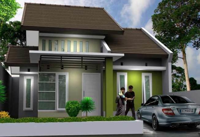 Model Rumah Minimalis 1 Lantai Teras Luas