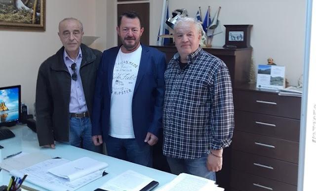 Επίσκεψη του υπ.  Ευρωβουλευτή Ι. Ζαφείρη στην Κυνηγητική Ομοσπονδία Πελοποννήσου