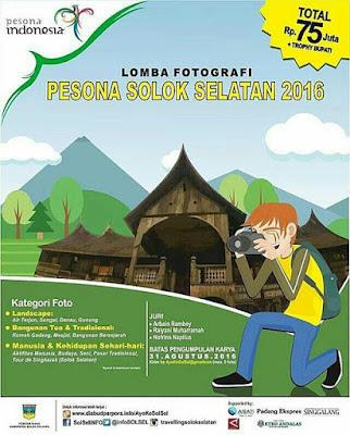 Lomba Fotografi Pesona Solok Selatan 2016 0- Sumatera Barat