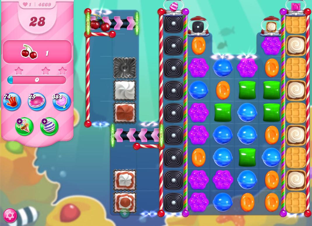 Candy Crush Saga level 4669