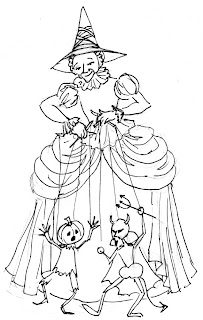 Witch Crafts: NEW WITCH PUPPETEER DOLL STARTED