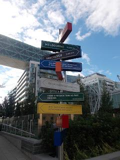 Toronto, signalisation, art urbain
