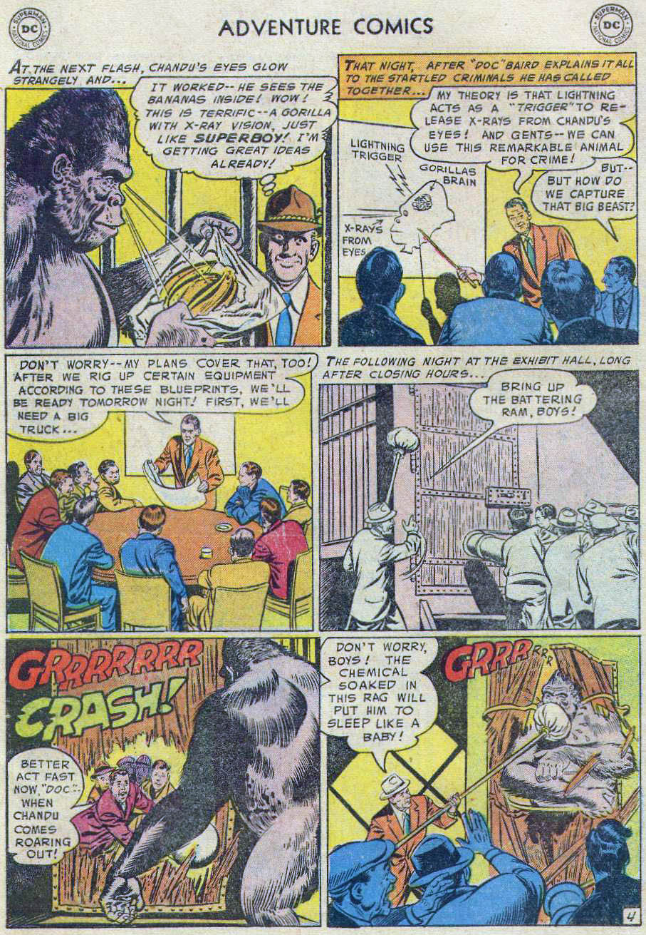 Read online Adventure Comics (1938) comic -  Issue #219 - 42