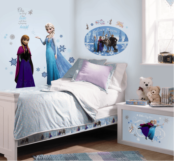 Dormitorios para ni as tema frozen ideas para decorar - Decorar dormitorio nina ...