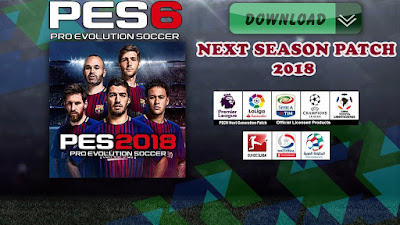 PES 6 Next Patch Temporada 2018 - Outubro 2017