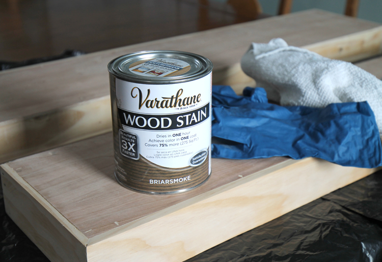 Weathered wood stain