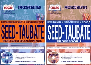 Apostila SEED Taubaté SP 2018 Professor