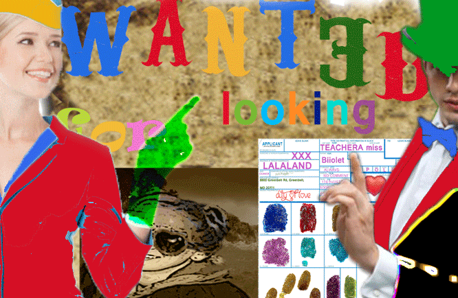 WANTED FOR LÖÖKING
