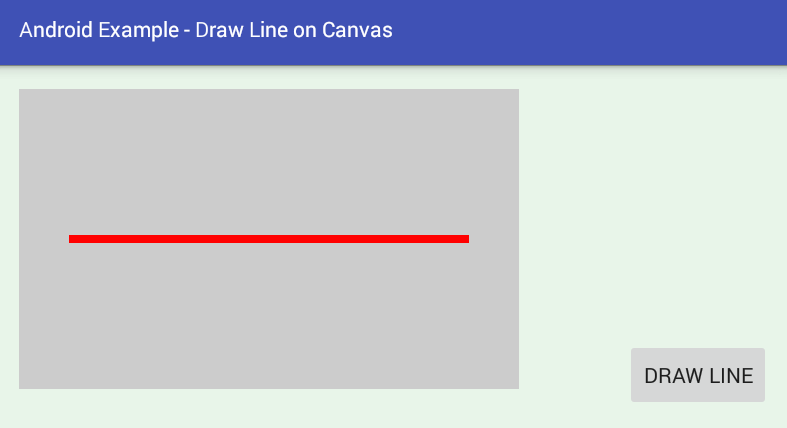 Drawing Lines With Canvas : Android how to draw a line on canvas