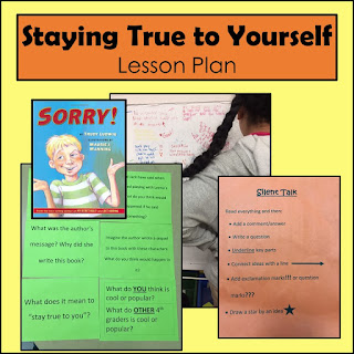 Peer pressure lesson plan - Staying True to yourself