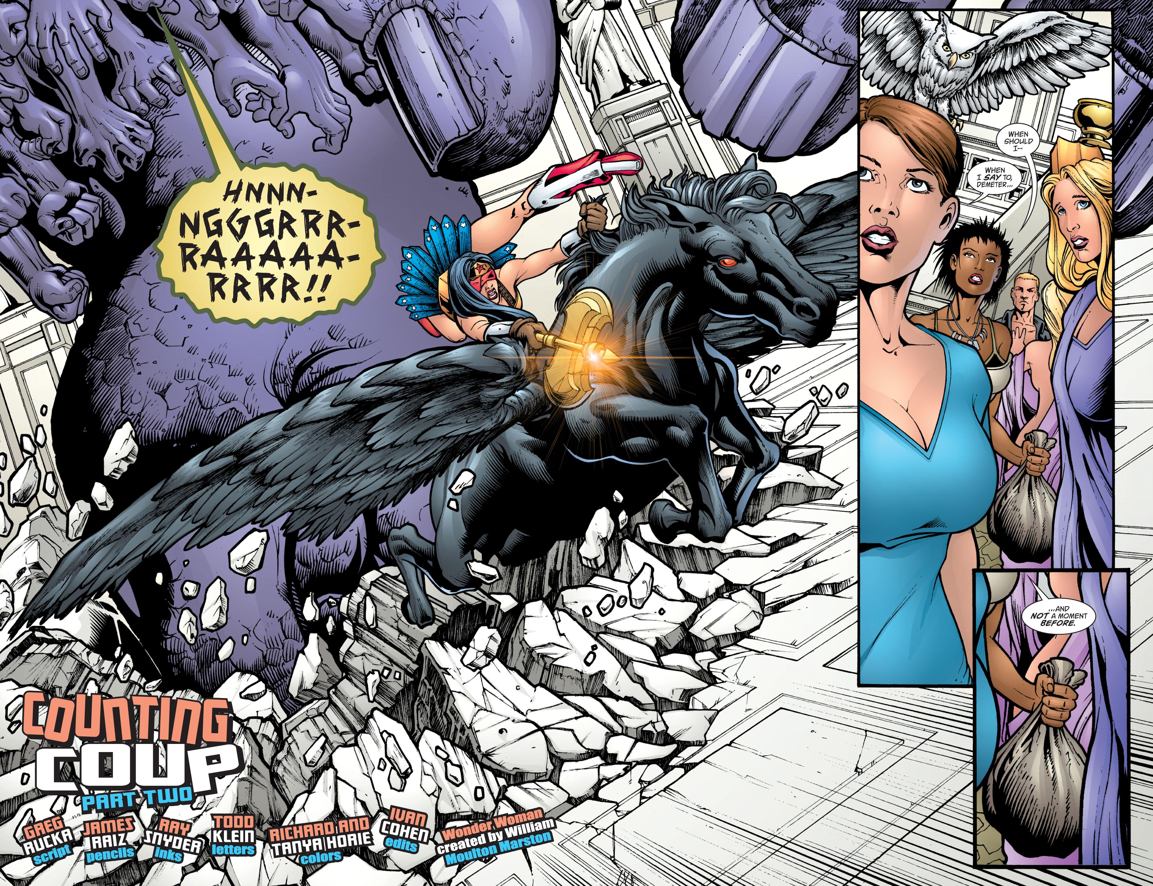 Read online Wonder Woman (1987) comic -  Issue #213 - 5