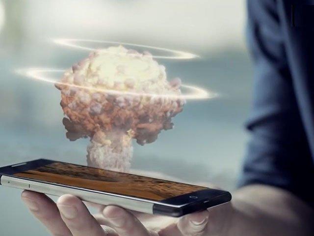 Ahora puedes convertir tu Smartphone en un proyector de hologramas 3D
