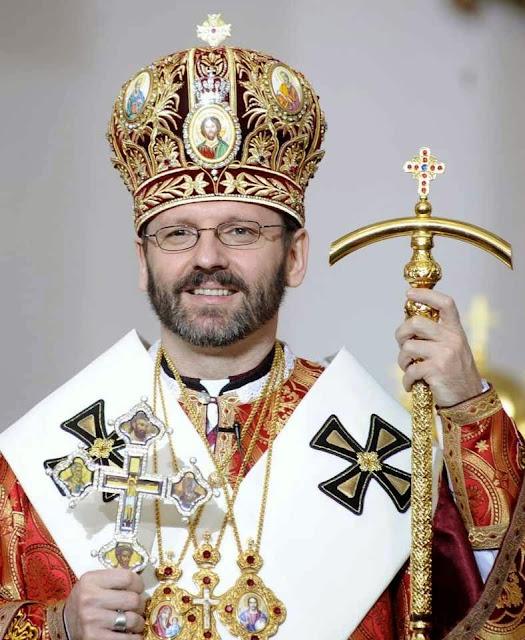 D.Sviatoslav Shevchuk, arcebispo-mor do Rito Greco-Católico da Ucrânia