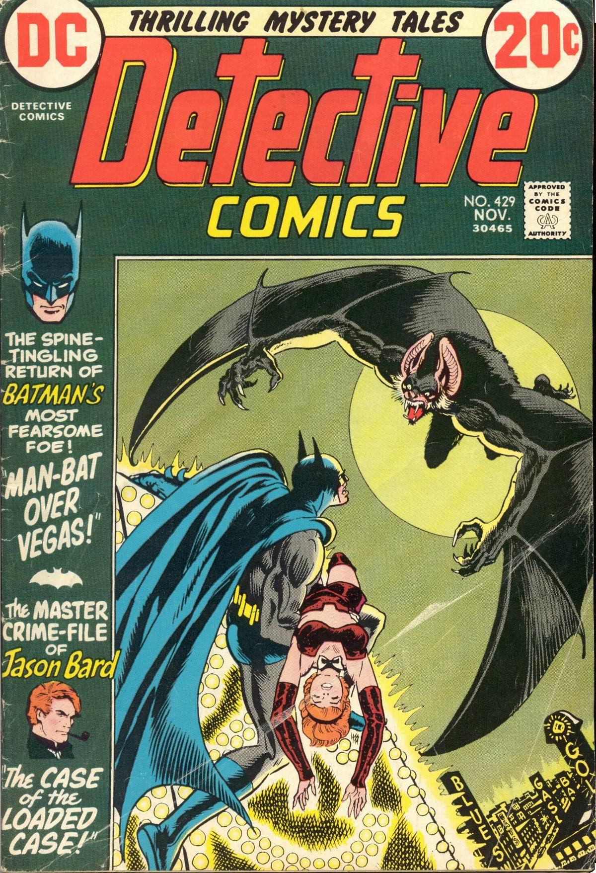 Detective Comics (1937) 429 Page 0