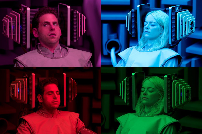 MANIAC  - Emma Stone y Jonah Hill en la serie de netflix