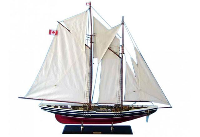 Bluenose Canadian Schooner
