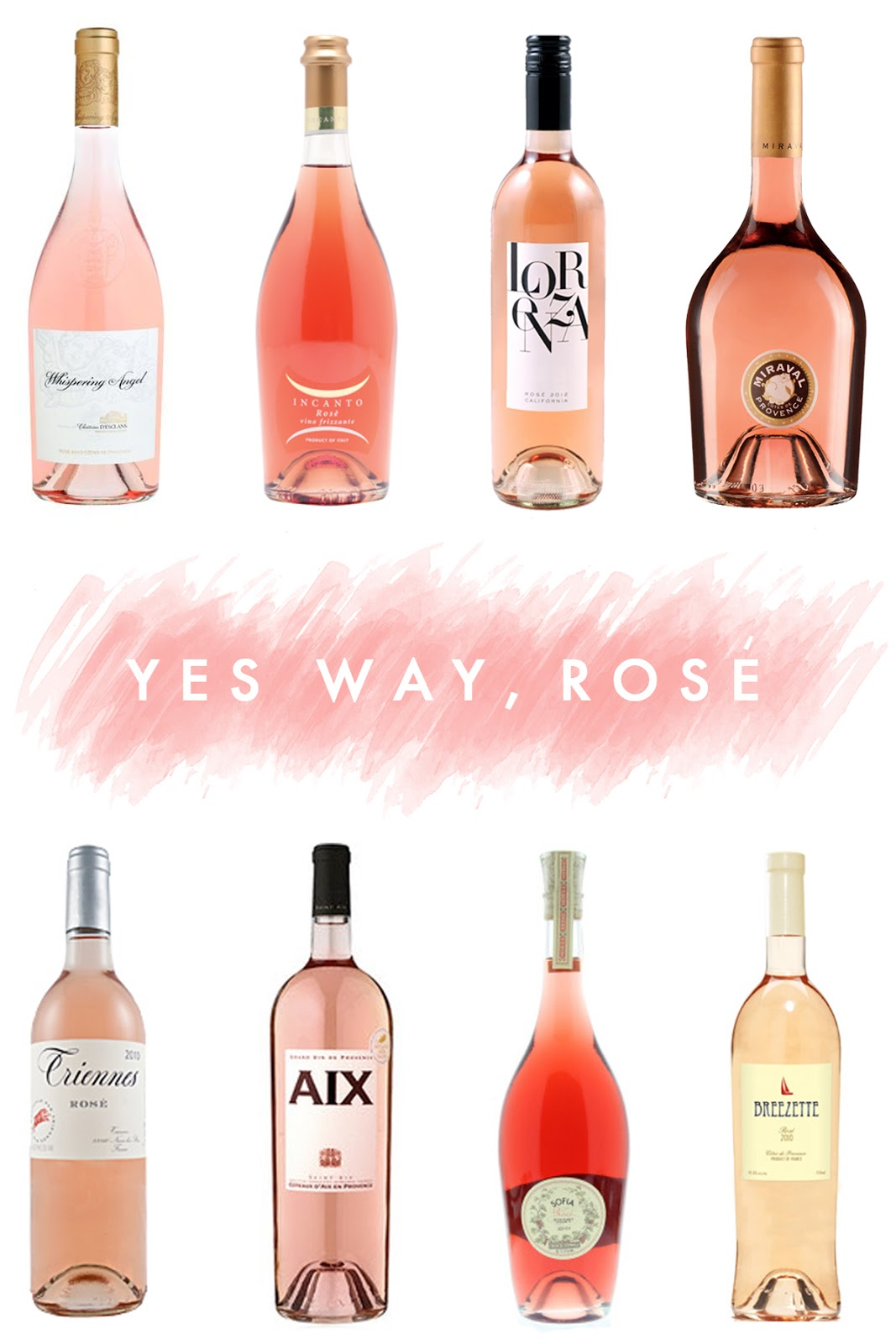 8 Rosé Wines to Try | bright and beautiful | Chicago Fashion + Lifestyle Blog