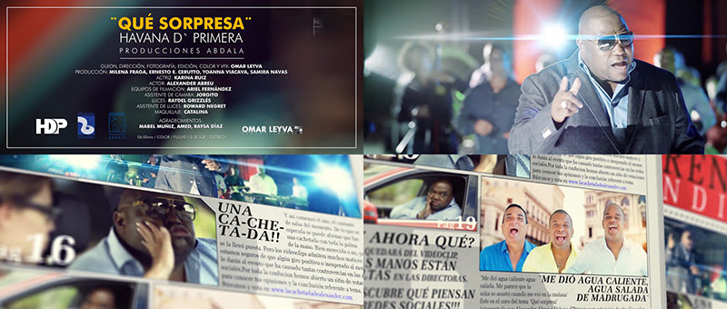 Alexander Abreu y Havana D´Primera - ¨Qué Sorpresa¨ - Videoclip - Dirección: Omar Leyva. Portal Del Vídeo Clip Cubano