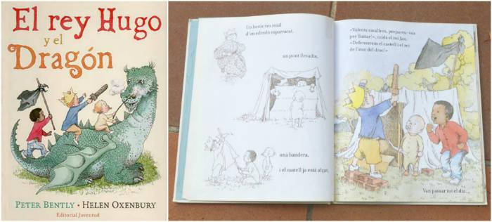 cuentos infantiles inpiracion filosofia educacion montessori rey hugo y el dragon bently