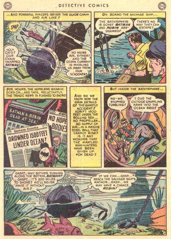 Read online Detective Comics (1937) comic -  Issue #147 - 12