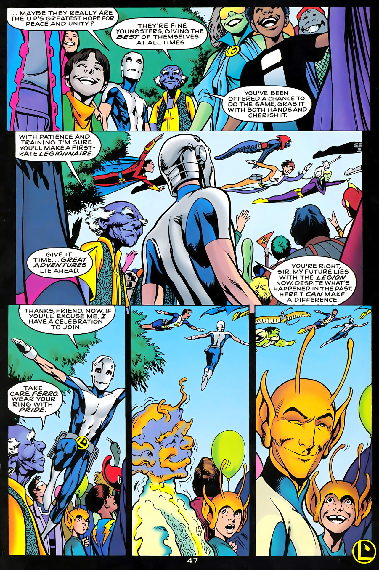 Legion of Super-Heroes (1989) 100 Page 43