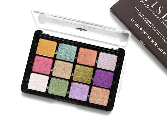Viseart Coy Eyeshadow Palette Review Photos Swatches