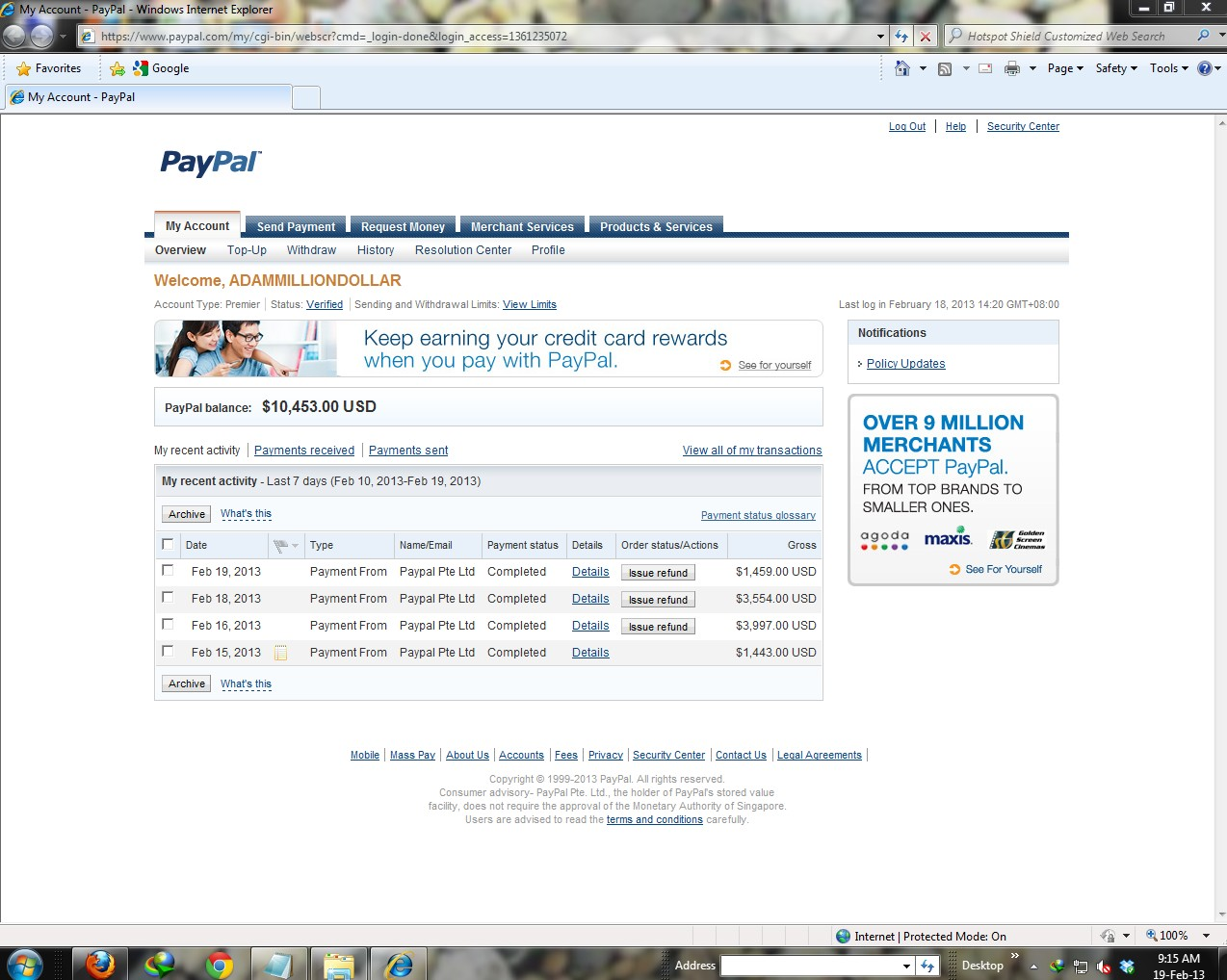 Paypal Money Hacker v2 8