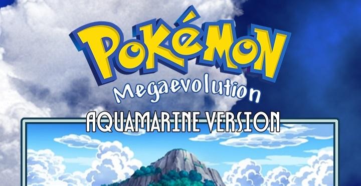 Pokemon Mega Evolution Aquamarine