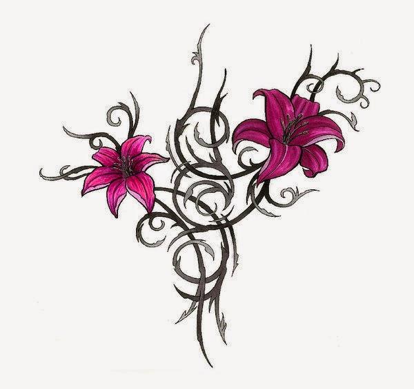 Disenos De Flores Para Tatuar